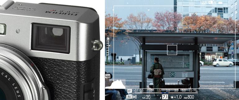 Viseur optique du Fujifilm X100F