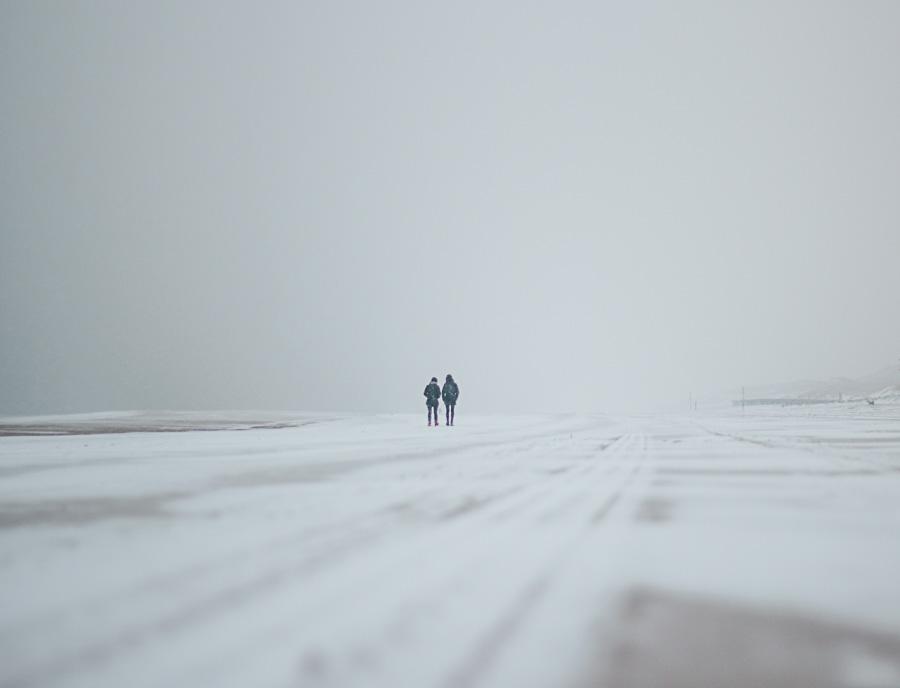 Illustration d'une image sous la neige mal exposée par Joris Molenaar
