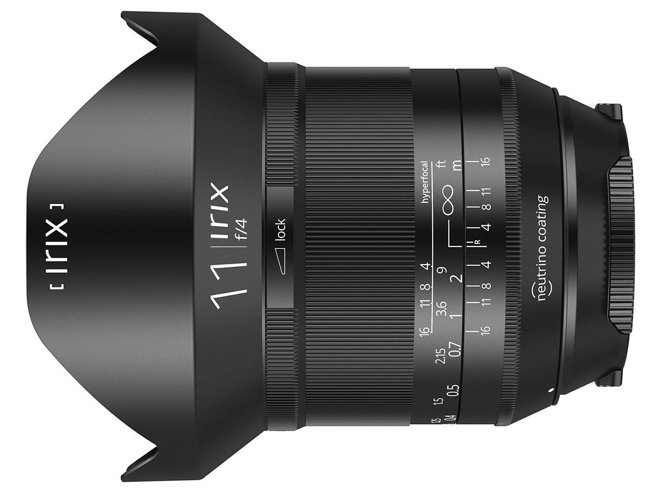 Irix 11 mm f/4