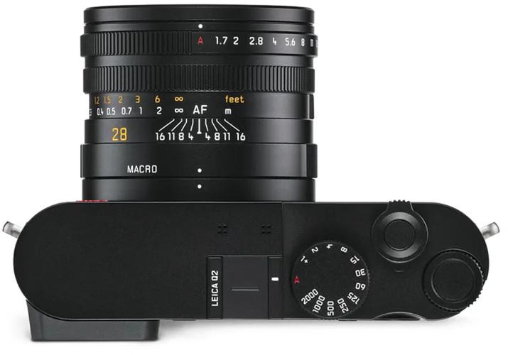 Ergonomie du Leica Q2