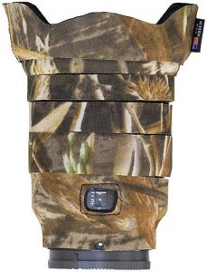 Protection d'objectif photo lenscoat camouflage