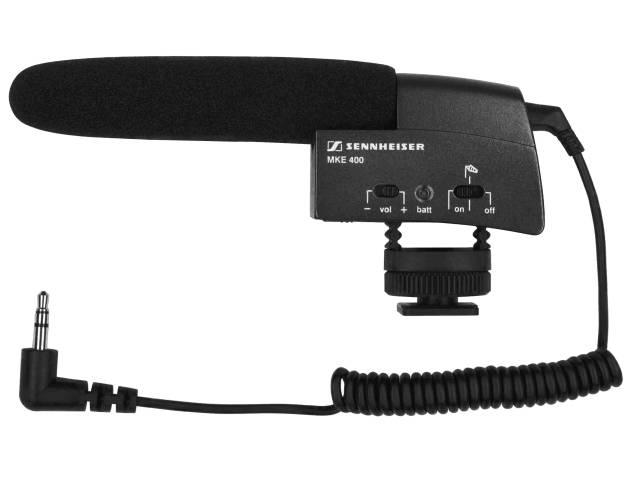 Microphone cardioide Sennheiser MKE-400