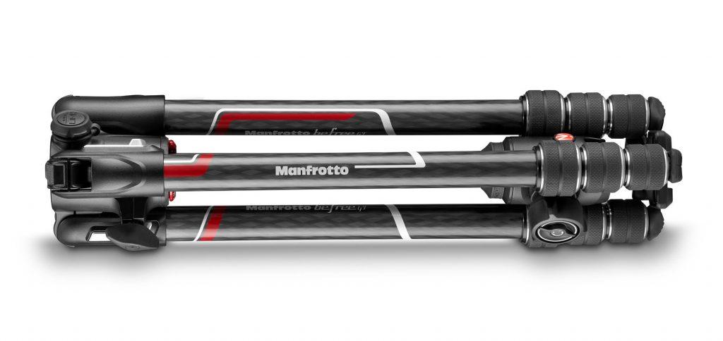 Trépied Manfrotto Befree GT Xpro replié