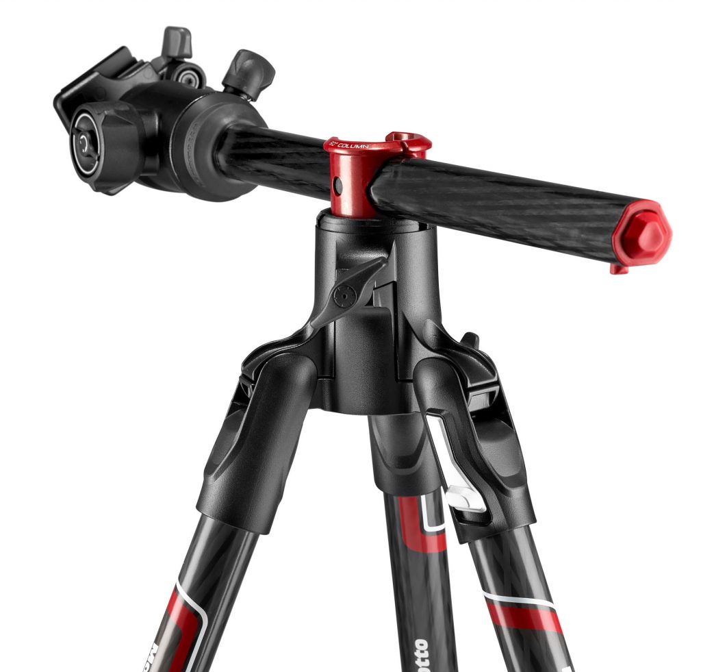 Trépied Manfrotto Befree GT Xpro colonne inclinable