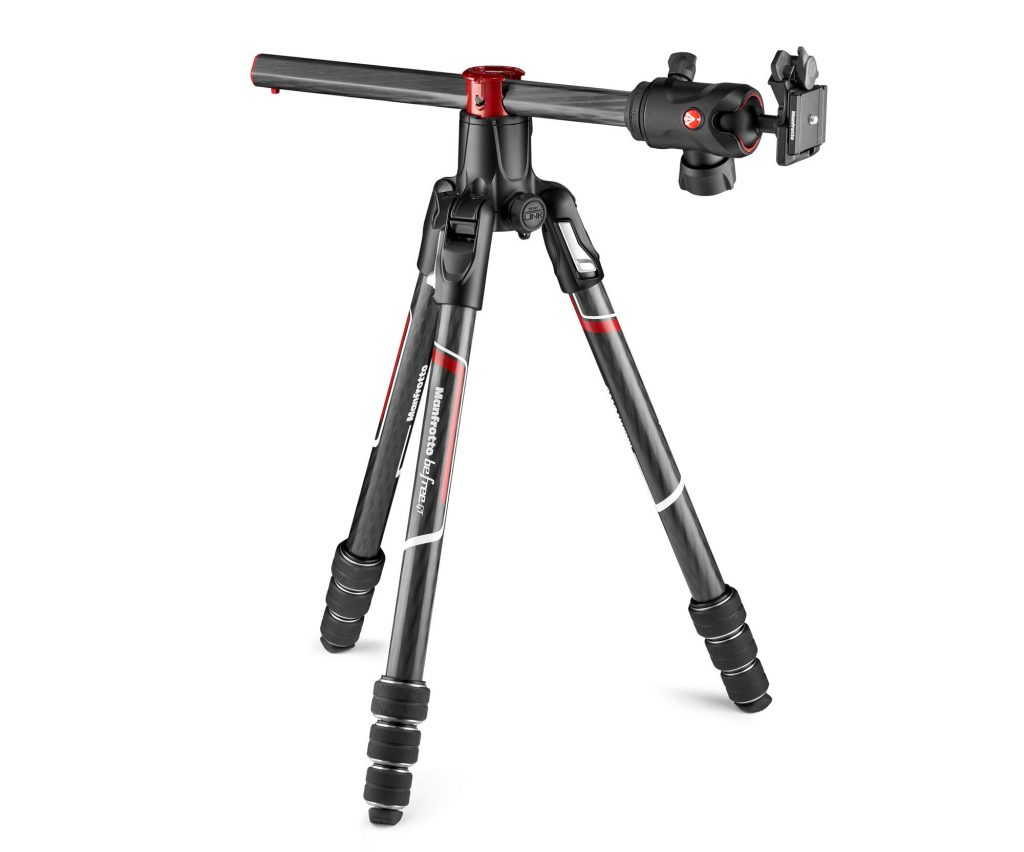 Trépied Manfrotto Befree GT Xpro compact colonne inclinable