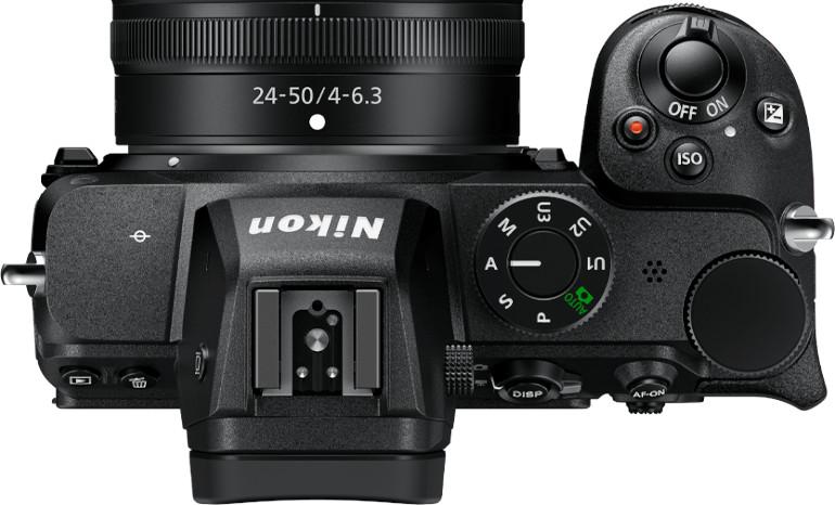 Dessus du Nikon Z5