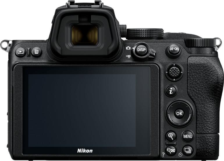 Dos du Nikon Z5