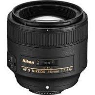 Objectif photo Nikon AF-S Nikkor 85 mm f/1,8 G (7,3 cm - 350g)