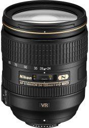 Objectif photo Nikon AF-S Nikkor 24-120 mm f/4 G (10,3 cm - 710g)