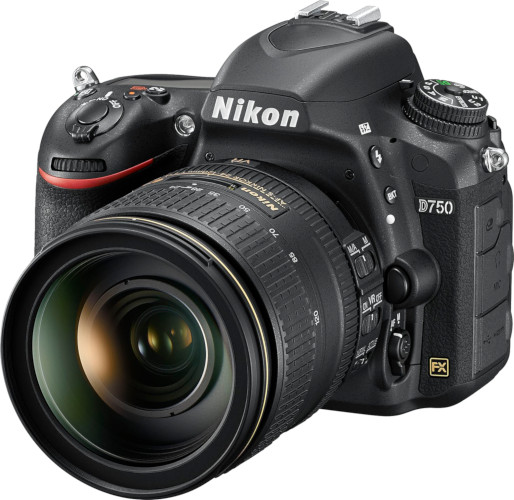 Nikon D750 et 24-120 mm f/4
