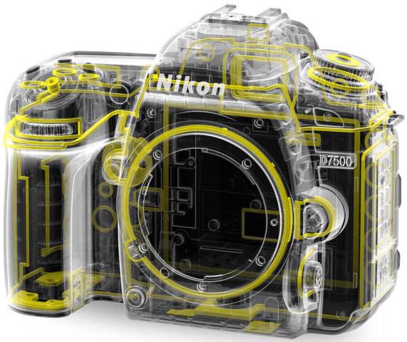 Protection tout-temps du reflex APS-C Nikon D7500