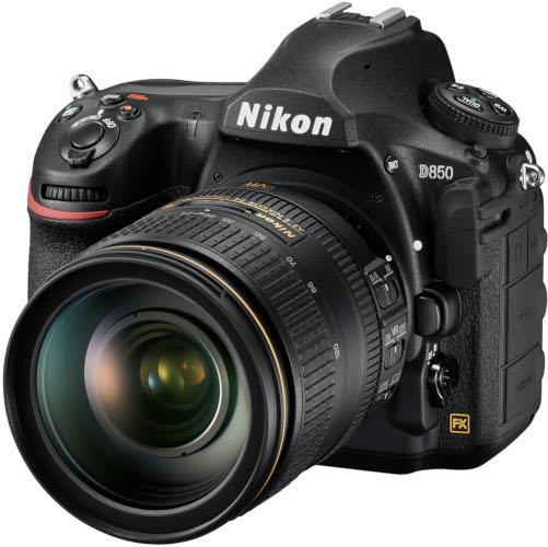 Nikon D850 et Nikkor 24-120 mm f/4