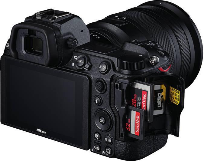 Cartes mémoire des Nikon Z6 II et Z7 II