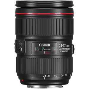 Objectif Canon EF 24-105 mm II usm f/4
