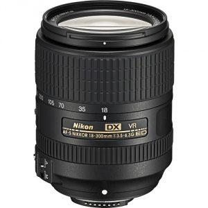 Objectif Nikkor 18-300 mm f/3,5-6,3 G ed vr