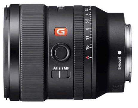 Objectif Sony 24 mm f/1.4 G Master
