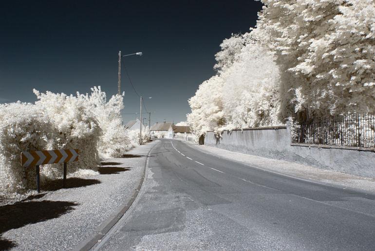 Photographie infrarouge de Pagny-le-Château