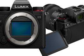 Panasonic Lumix S5 face et dos
