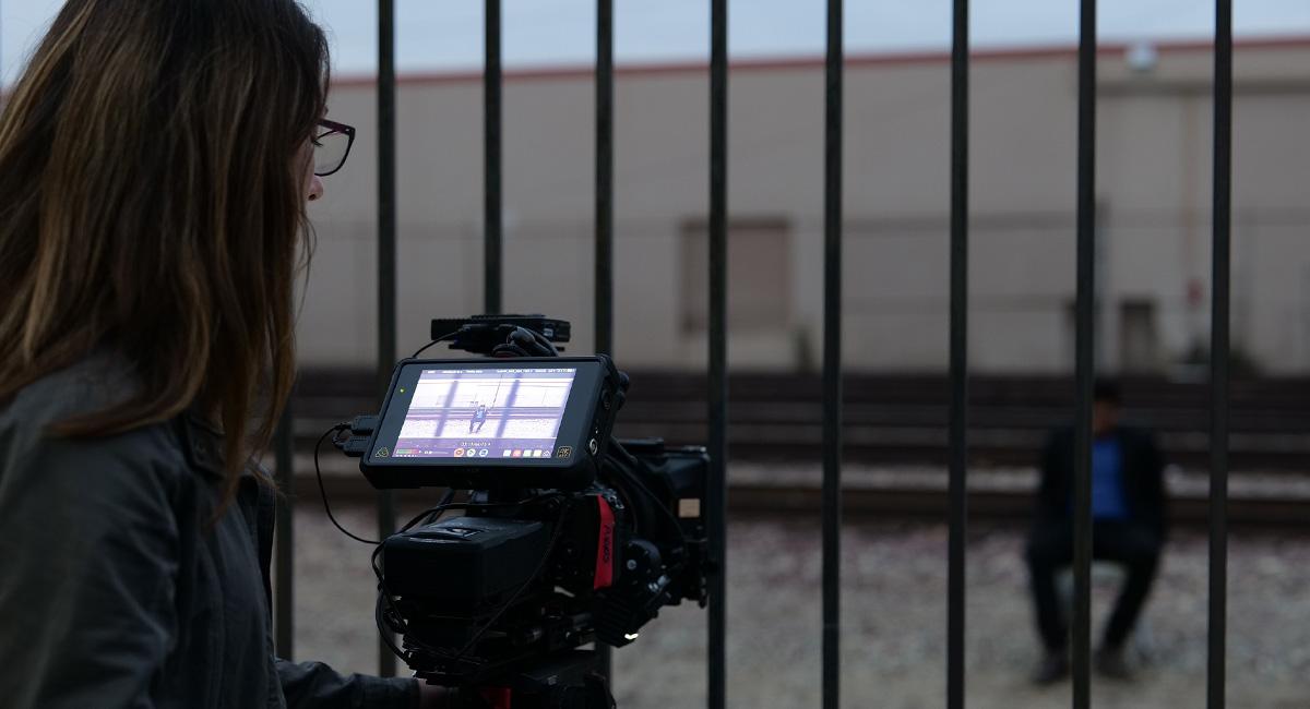 Lumix S1H Netflix : tournage.
