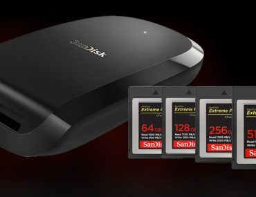 SanDisk Extreme Pro CFexpress : ouverture.