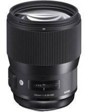 Objectif photo Sigma 135 mm f/1,8 dg (15 cm - 1,130g)