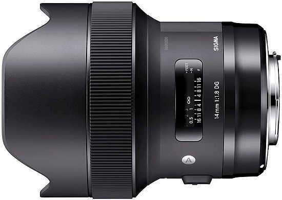 Objectif Sigma 14 mm f/2.8