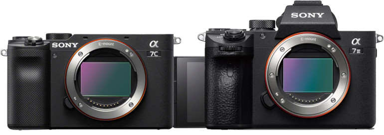 Sony A7C et A7 III