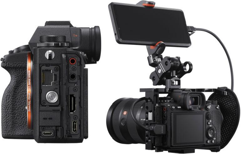 Connectique du Sony A1