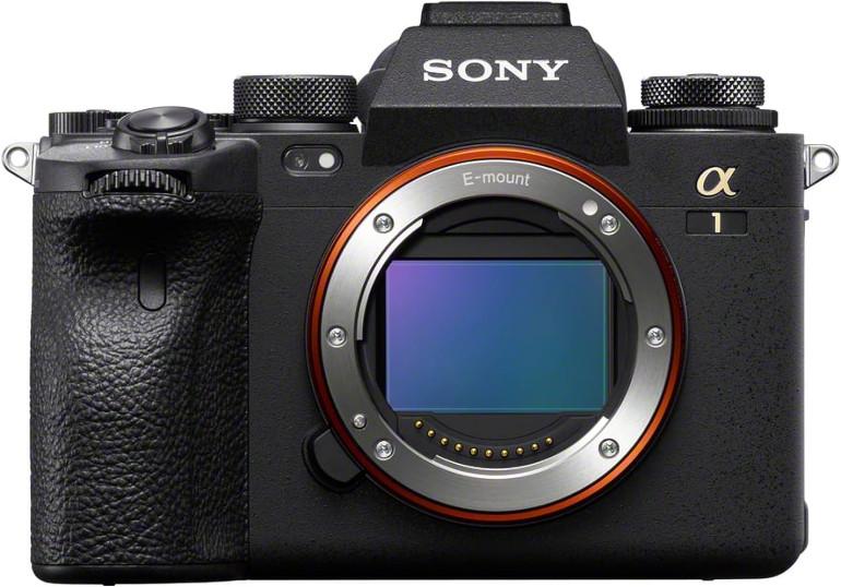 Sony A1 de face nu