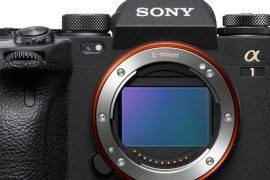 Sony Alpha 1 vu de face