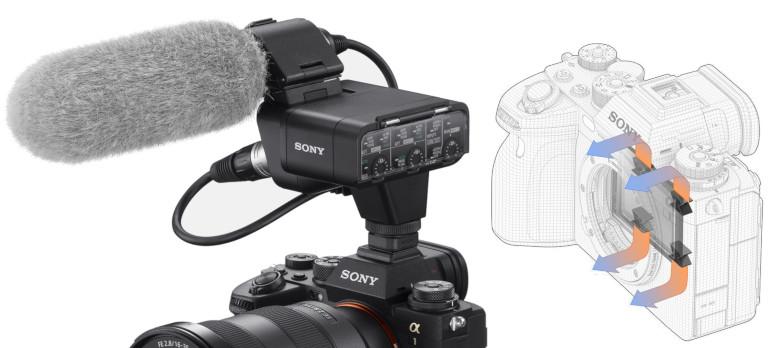 Mixette XLR-K3M et refroidissement du Sony A1