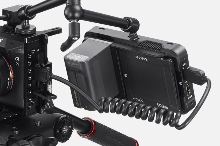 Enregistreur HDMI Atomos et Sony A7S III