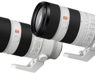 Sony FE 70-200 mm GM I et II