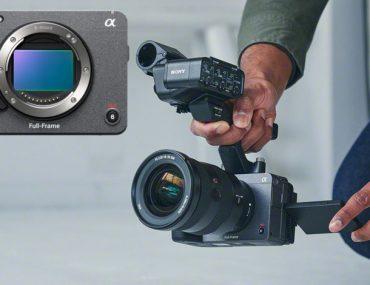 Tournage avec une Sony FX3 et sa poignée