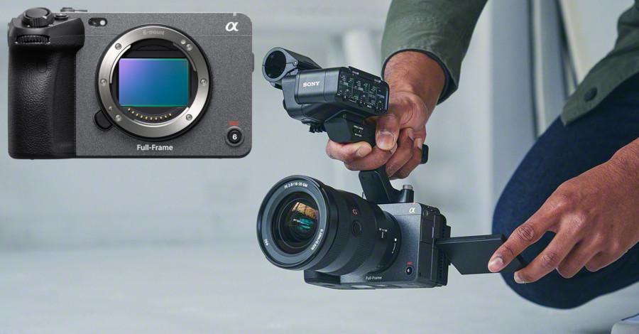 Sony FX3 : la caméra compacte née d'un hybride