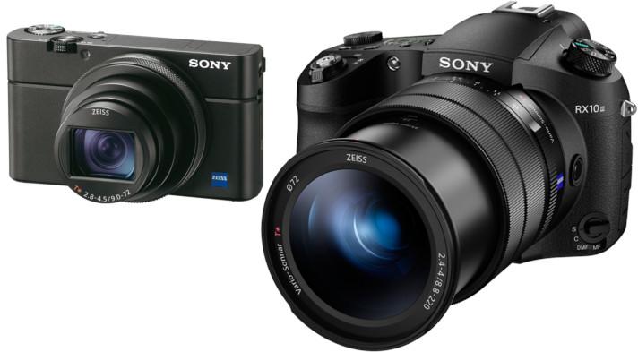Compact Sony RX100 vs bridge Sony RX10
