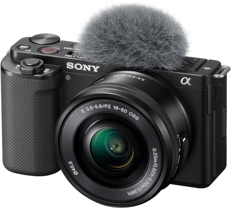 Kit Sony ZV-E10 + PZ 16-50mm + bonnette