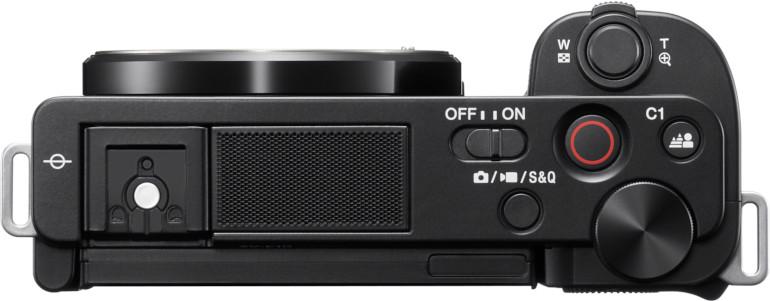 Face supérieure du Sony ZV-E10