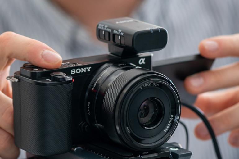 ZV-E10 et micro sans fil