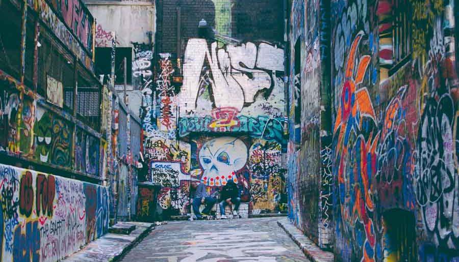 Pratiquer la street art photographie