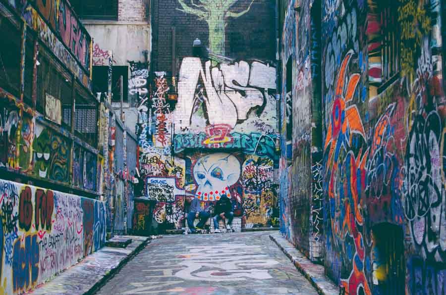 Street art photographie de Linda Xu