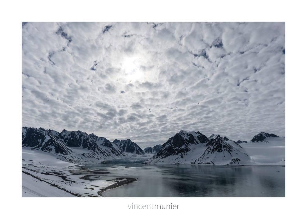 Paysage de la baie de la Madeleine, Spitzberg, 2014