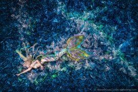 Extrait 2 de la série #MermaidsHatePlastic de Benjamin Von Wong