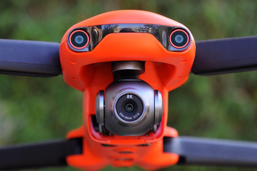 La caméra 8K de l'Evo II d'Autel Robotics