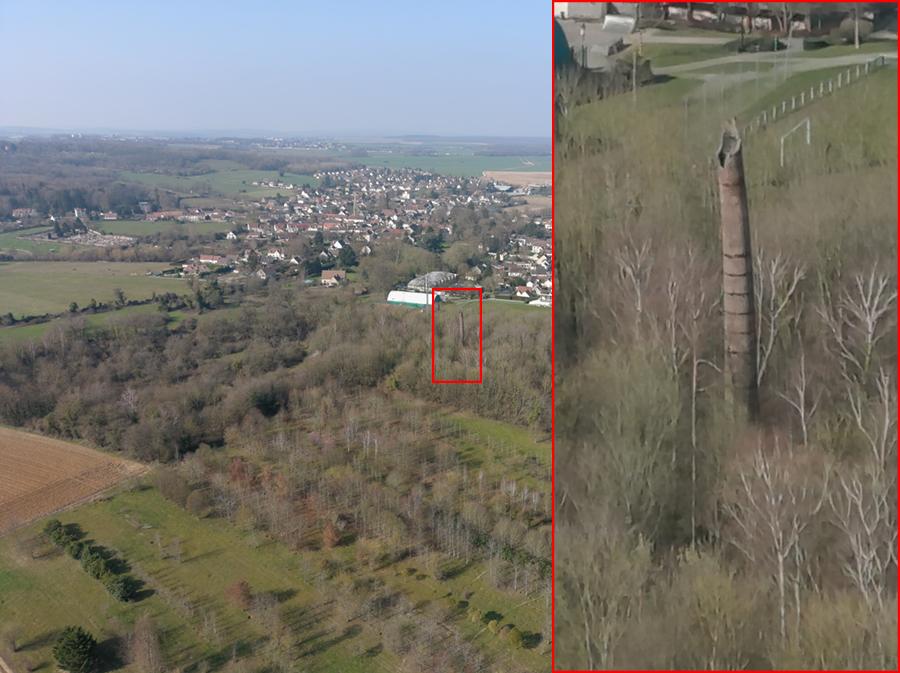 Exemple de zoom 8x avec l'Evo II d'Autel Robotics