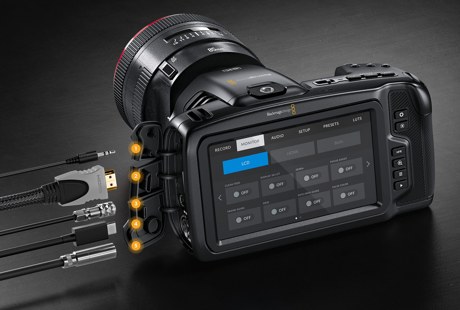 Decouvrez La Nouvelle Blackmagic Design Pocket Cinema Camera 6k