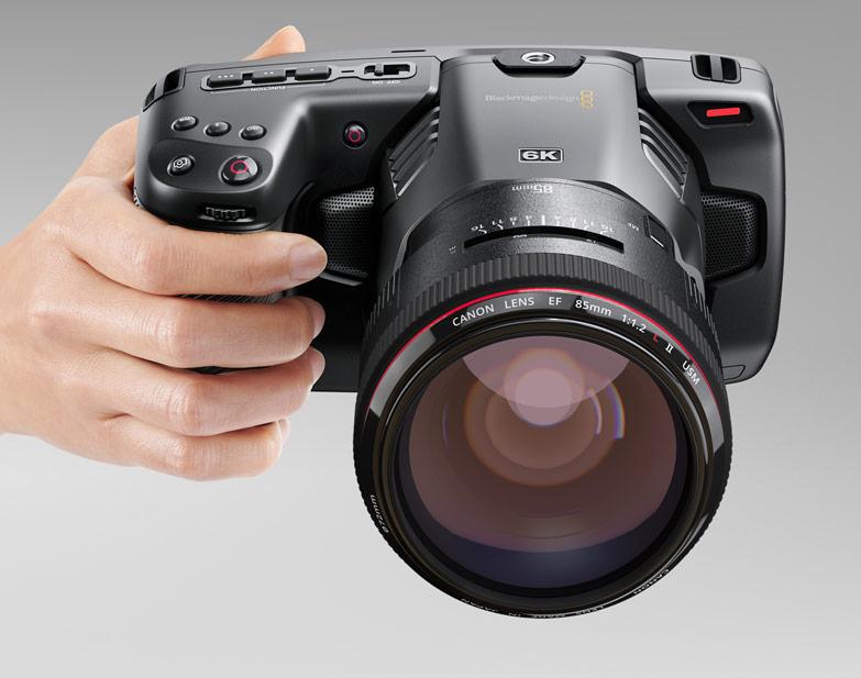 BlackMagic Design Pocket Cinema Camera 6K : prise en main