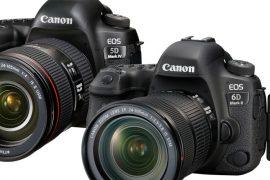 Reflex Canon 6dii et 5d iv