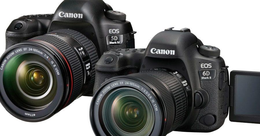 Canon EOS 5D Mk IV ou EOS 6D Mk II ?