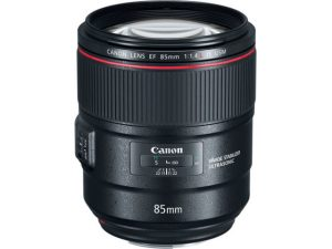 Objectif photo Canon ef 85 mm f/1,4 L usm (10,5 cm -950g)